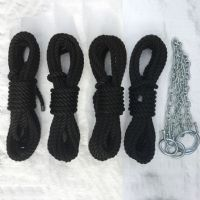 14mm Black Multifilament Polypropylene Mooring Line Kits